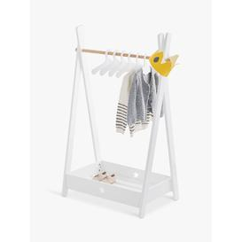 image-Great Little Trading Co Star Bright Clothes Rail, White