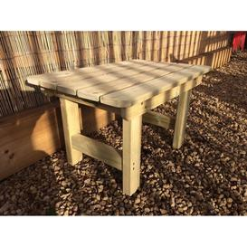 image-Churnet Valley Wooden Outdoor Coffee Table