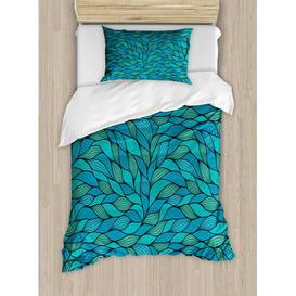 image-Eleanor Duvet Cover Set Longshore Tides Size: 135 x 200cm - x1 80 x 80cm pillow cover