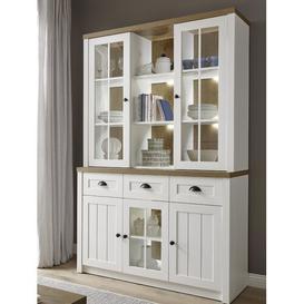 image-Grimaldo Standard Display Cabinet Brambly Cottage