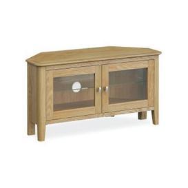 image-Global Home Bath Oak Corner TV Unit