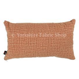 image-Tapini Cushion with Filling Yorkshire Fabric Shop Colour: Orange