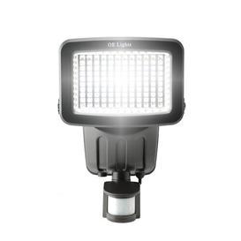image-120 SMD LED Solar Security Light in Black OE Lights Finish: Black
