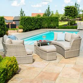 image-Canica 6 Seater Rattan Sofa Set Sol 72 Outdoor