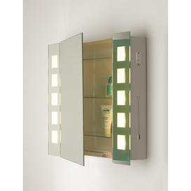 image-Dar ZEN99 Zenia IP21 Bathroom Mirror Cabinet