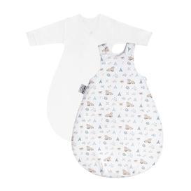 image-Cosy Nordic Bear 2-Piece Wearable Blanket Set Julius Z├╢llner Size: 56cm H x 38cm W x 2cm D