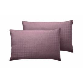 image-Florance Pillowcase August Grove Colour: Wine