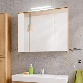 image-Remik 80 cm x 68 cm Surface Mount Mirror Cabinet with Lighting Belfry Bathroom