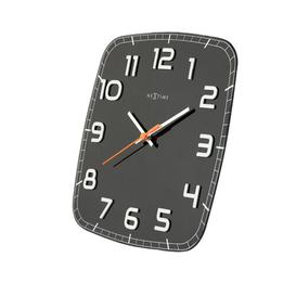 image-Classy Wall Clock NeXtime Colour: Black