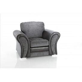 image-Bui Armchair Ebern Designs Upholstery Colour: Charcoal