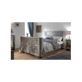 image-GFW Newark Crushed Velvet TV Bed, Double