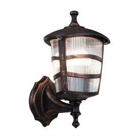 image-Goldia Outdoor Wall Lantern Rosalind Wheeler Fixture Finish: Copper