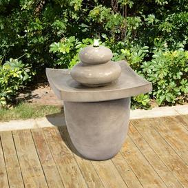 image-Holman Resin Floor Fountain with LED Light Sol 72 Outdoor