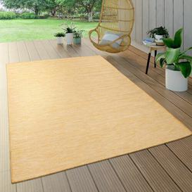 image-Bader Yellow Indoor/Outdoor Rug Ebern Designs