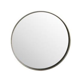 image-Hill Interiors Bronze Round Wall Mirror - 70cm x 70cm