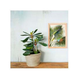 image-Faux Stemmed Paddle Plant