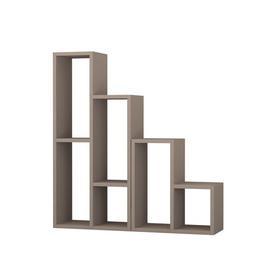 image-Collett Multi-Tiered Plant Stand Mercury Row Colour: Light Mocha