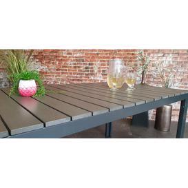 image-Reims Aluminium Dining Table Sol 72 Outdoor Colour: Anthracite