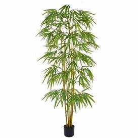 image-Artificial Bamboo Tree Bay Isle Home Size: 180cm H x 80cm W x 80cm D