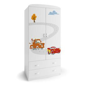 image-Cars 2 Door Wardrobe Meblik