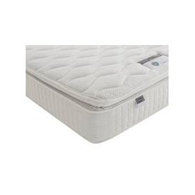 "image-Silentnight 1000 Mirapocket Pillow Top Mattress - Double (4'6\"" x 6'3\"")"