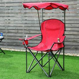 image-Sueann Folding Beach Chair Sol 72 Outdoor Colour: Red