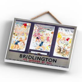 image-Bridlington Train Window Scene Wall Décor