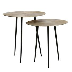 image-Clintwood 2 Piece Nest of Tables Bloomsbury Market