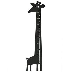 image-Giraffe Growth Chart Roommate Colour: Black
