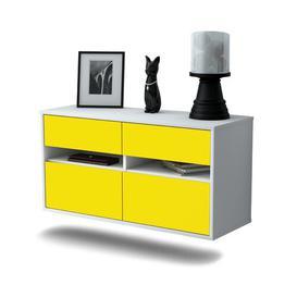 image-Streton TV Stand Ebern Designs Colour: Yellow