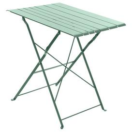 image-Nidavellir Folding Steel Bistro Table Sol 72 Outdoor Colour: Green