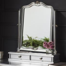 image-Comstock Arched Dressing Table Mirror Lily Manor