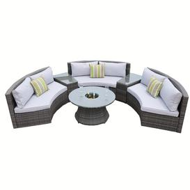 image-Jeip 6 Seater Rattan Sofa Set Sol 72 Outdoor