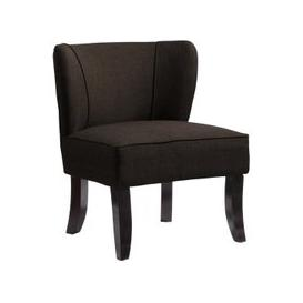 image-Bambrook Fabric Upholstered Bedroom Chair In Brown