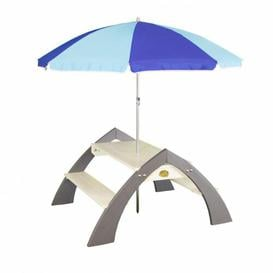 image-Isoline Children's Picnic Table with Parasol Sol 72 Outdoor