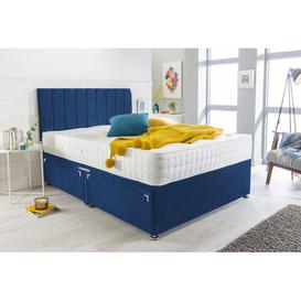 image-Plainview Divan Bed Canora Grey Size: Kingsize (5'), Storage Type: 2 Drawers Foot End