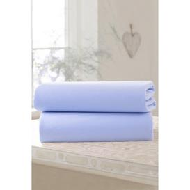 image-Clair de Lune 2 Pack Fitted Cotton Jersey Cot Bed Sheets