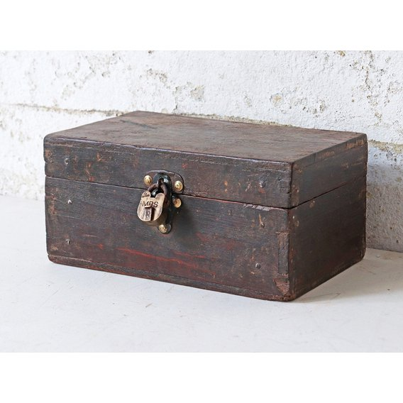 image-Wooden Jewellery Box  Small