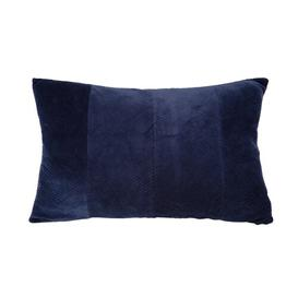 image-Ribbed Cushion with Filling Present Time