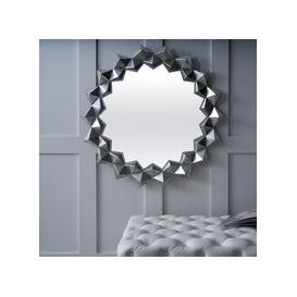 image-Montana Silver Sunburst Mirror - 86cm x 86cm