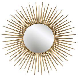 image-Sunburst Mirror  Gold