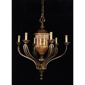 image-Curlee 9-Light Candle-Style Chandelier Astoria Grand