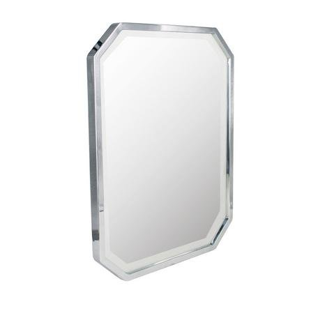 image-5A Fifth Avenue Chrome Plated Mirror Chrome (Silver)