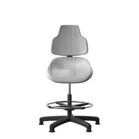 image-Lapis Draughtsman Chair Symple Stuff Colour: Grey