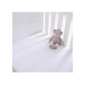 image-Silentnight Pack Of 2 Jersey Fitted Cot Bed Sheets