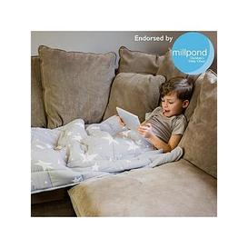 image-Rest Easy Sleep Better Star Print Weighted Blanket