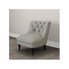 image-Richmond Tub Chair Tweed Natural Oak Leg, Tweed Mid Grey, One Size
