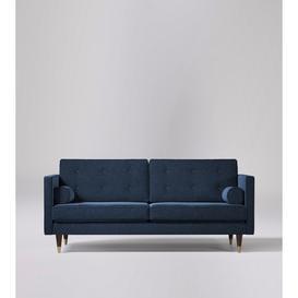 image-Swoon Porto Two-Seater Sofa in Indigo Smart Wool