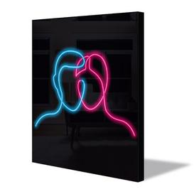 image-Neon Sign Faces Wall Décor