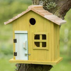 image-Stasya Nesting Wooden Mounted Bird House Sol 72 Outdoor Colour: Green